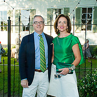 Phillip and Jane Scott Hodges at the House Beautiful Kitchen of the Year Gala in New Orleans on Friday, May 1, 2015. <br /> <br /> #housebeautiful #kitchenoftheyear #nola
