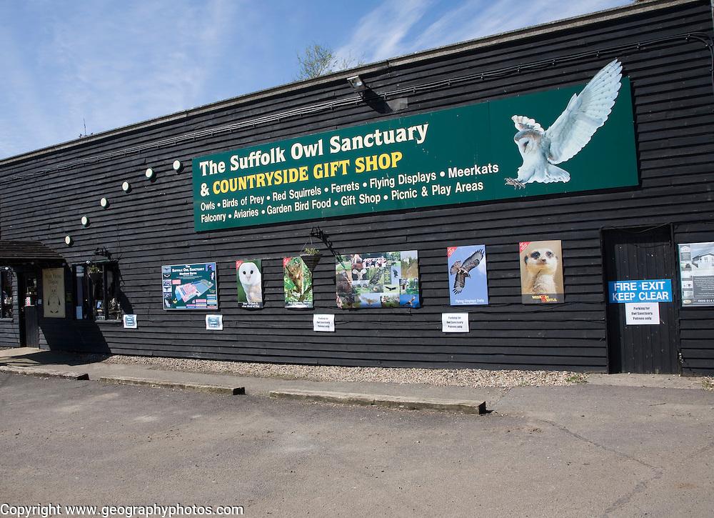 The Suffolk Owl Sanctuary building, Stonham Barns, Suffolk, England