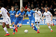Peterborough Utd's Lee Tomlin (29) drives forward during the EFL Sky Bet League 1 match between Peterborough United and Wycombe Wanderers at London Road, Peterborough, England on 2 March 2019.