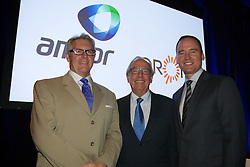 Amcor EGM and GM to discuss and vote on the demerger of Amcor and Orora. At the Melbourne Convention and Exhibition Centre. Ian Wilson, Executive VP Strategy & Development, Out going Amcor<br /> Chairman New Orora Chariman, Chris Roberts, Amcor CEO & MD Ken MacKenzie.