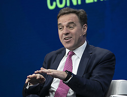 May 1, 2019 - Los Angeles, California, United States of America - Niall Ferguson, Senior Fellow, Hoover Institution at Stanford University during the 2019 Milken Institute Global Conference held Wednesday May 1, 2019 at the Beverly Hilton Hotel in Beverly Hills, California. ARIANA RUIZ/PI (Credit Image: © Prensa Internacional via ZUMA Wire)