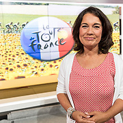 NLD/Hilversum/20170622 - Perspresentatie NOS Tour de France, Dione de Graaf