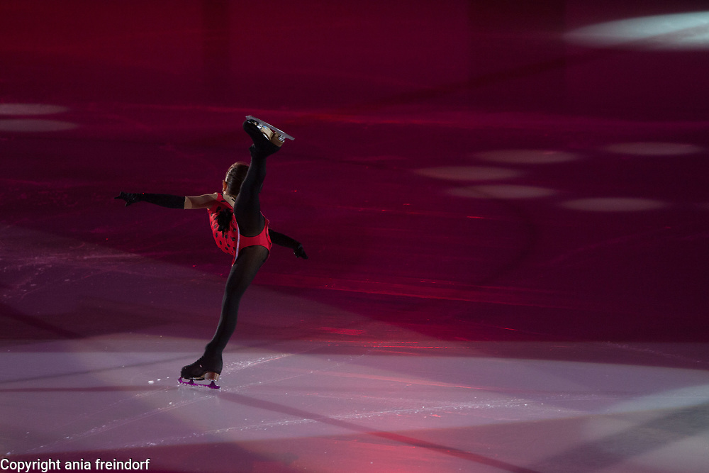 International Ice Skating Gala, Courchevel, France, 20 July 2017, Olivia Basca, young skater, 7 years old, Swiss,
