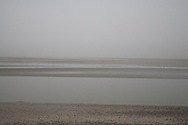 le Crotoy , the  baie de Somme Picardie beach    France