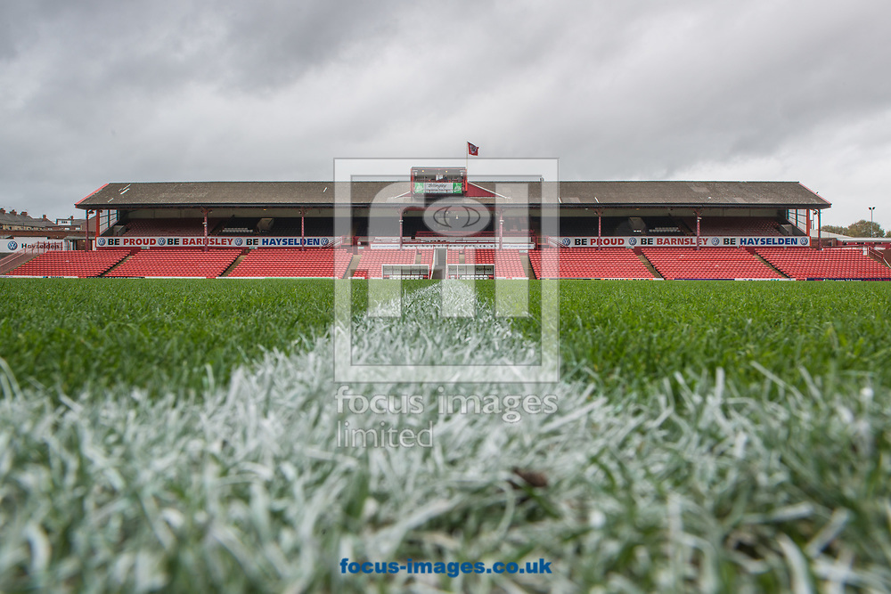 A general view of Oakwell, Barnsley, prior to the Sky Bet Championship match between Barnsley and Hull City <br /> Picture by Matt Wilkinson/Focus Images Ltd 07814 960751<br /> 21/10/2017