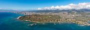 Diamond Head, Waikiki, Honolulu, Oahu, Hawaii