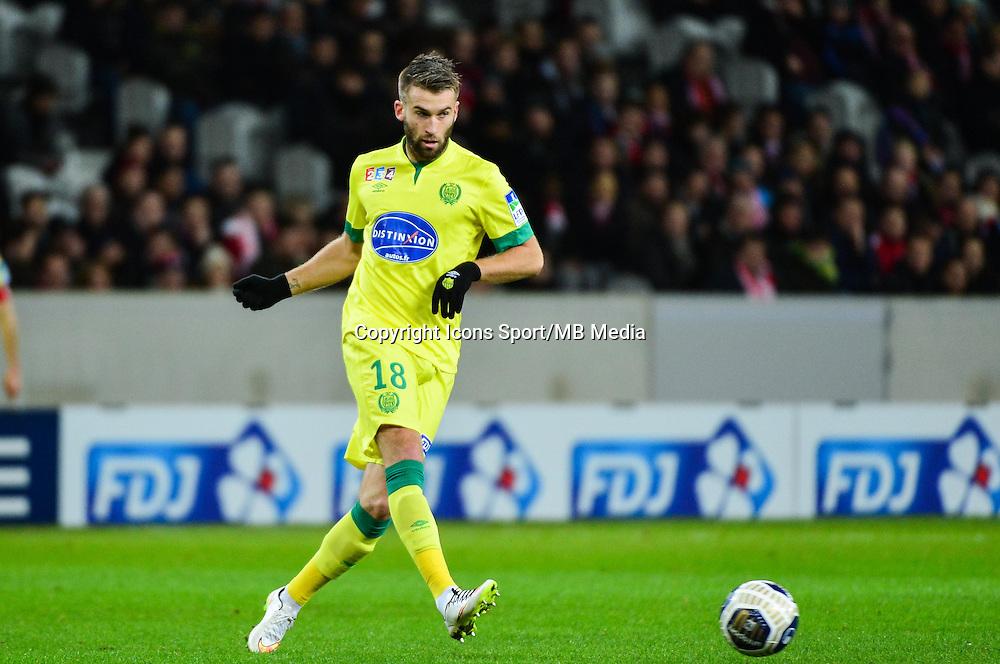 Lucas DEAUX - 14.01.2014 - Lille / Nantes - 1/4Finale Coupe de la Ligue<br /> Photo : Dave Winter / Icon Sport