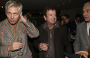 Eric Boman and Nicky Haslam. The Vogue Winter party to celebrate the Vogue List. Nobu Berkeley. London.   8 November 2005 . ONE TIME USE ONLY - DO NOT ARCHIVE © Copyright Photograph by Dafydd Jones 66 Stockwell Park Rd. London SW9 0DA Tel 020 7733 0108 www.dafjones.com