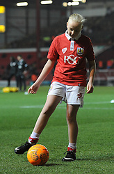 Mascot - Photo mandatory by-line: Dougie Allward/JMP - Mobile: 07966 386802 - 10/02/2015 - SPORT - Football - Bristol - Ashton Gate - Bristol City v Port Vale - Sky Bet League One
