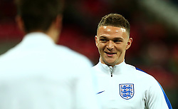 Kieran Trippier of England - Mandatory by-line: Robbie Stephenson/JMP - 05/10/2017 - FOOTBALL - Wembley Stadium - London, United Kingdom - England v Slovenia - World Cup qualifier
