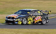 Steve Owen.#49 Ford Falcon V8 Supercar.V8 Supercars Pre Season Test Day .Sandown Raceway, Springvale, Victoria.11th February 2012.(C) Joel Strickland Photographics..Use information: This image is intended for Editorial use only (e.g. news or commentary, print or electronic). Any commercial or promotional use requires additional clearance.