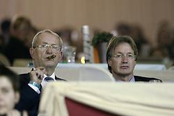 Melchior Leon, Kemperman Frank, (NED)<br /> CSI-W Mechelen 2002<br /> © Hippo Foto - Dirk Caremans