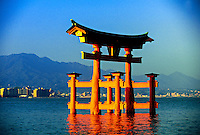 Otorii Gate, Miyajima (Shrine Island), near Hiroshima, Japan