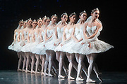 La Bayadere <br /> A ballet in three acts <br /> Choreography by Natalia Makarova <br /> After Marius Petipa <br /> The Royal Ballet <br /> At The Royal Opera House, Covent Garden, London, Great Britain <br /> General Rehearsal <br /> 30th October 2018 <br /> <br /> STRICT EMBARGO ON PICTURES UNTIL 2230HRS ON THURSDAY 1ST NOVEMBER 2018 <br /> <br /> The Shades <br /> <br /> Photograph by Elliott Franks Royal Ballet's Live Cinema Season - La Bayadere is being screened in cinemas around the world on Tuesday 13th November 2018 <br />
