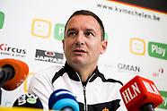 KV Mechelen Press Conference - 02 Nov 2017