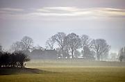 Nederland, Middelaar, 5-12-2012Ochtendmist hangt over het land. Foto: Flip Franssen/Hollandse Hoogte