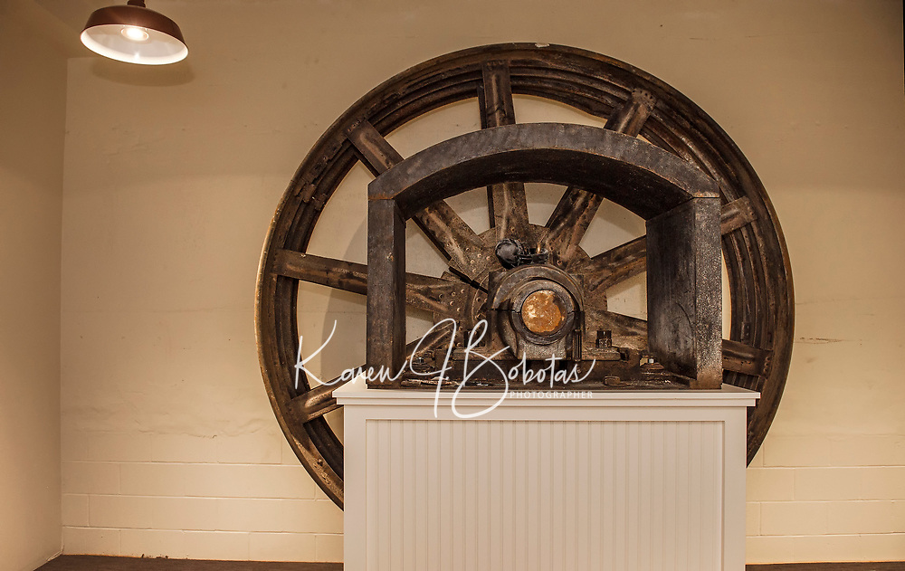 Franklin Mill work in progress.  ©2017 Karen Bobotas Photographer
