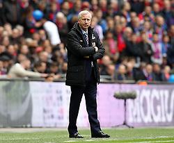 Crystal Palace Manager Alan Pardew - Mandatory by-line: Robbie Stephenson/JMP - 24/04/2016 - FOOTBALL - Wembley Stadium - London, England - Crystal Palace v Watford - The Emirates FA Cup Semi-Final