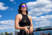 CHICAGO, IL - JUNE 24: Recording artist Kelleigh Bannen is seen during the Lakeshake Festival at Huntington Bank Pavilion at Northerly Island on June 24, 2017 in Chicago, Illinois. (Photo by Michael Hickey/Getty Images) *** Local Caption *** Kelleigh Bannen