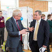 27.04. 2017.          <br /> Pictured at the Limerick Institute of Technology (LIT) SciFest were, Prof. Vincent Cunnane, President LIT and Senator Kieran O'Donnell. Picture: Alan Place.