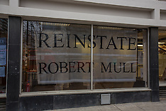 "11 Dec 2015 - "" Reinstate Robert Mull"" The CASS occupiers make it clear in black & white."