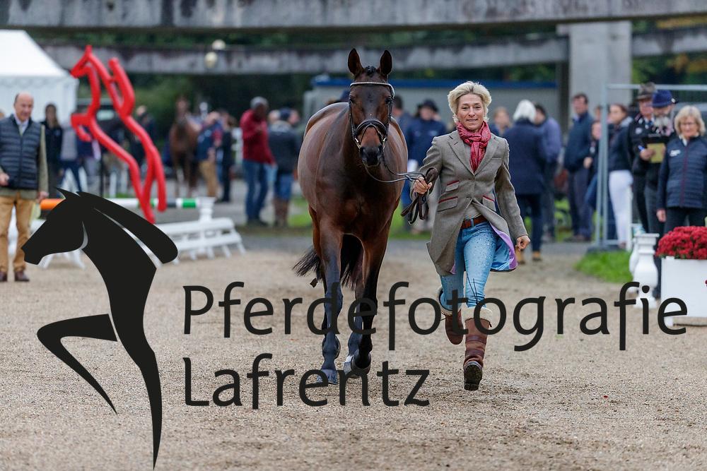 KLIMKE Ingrid (GER), EQUISTROS SIENA JUST DO IT<br /> Le Lion d'Angers - FEI Eventing World Breeding Championship 2019<br /> 2. Verfassungsprüfung<br /> 20. Oktober 2019<br /> © www.sportfotos-lafrentz.de/Stefan Lafrentz