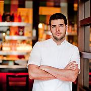 Bibiana chef Nicholas Stefanelli poses for a portrait on Wednesday, Jan. 12, 2011.
