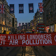Stop Killing Londoners: Cut Air Pollution Protest in Central London
