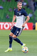 MELBOURNE, VIC - MARCH 05: Ola Toivonen (11) of Melbourne Victory watches on during the AFC Champions League soccer match between Melbourne Victory and Daegu FC on March 05, 2019 at AAMI Park, VIC. (Photo by Speed Media/Icon Sportswire)
