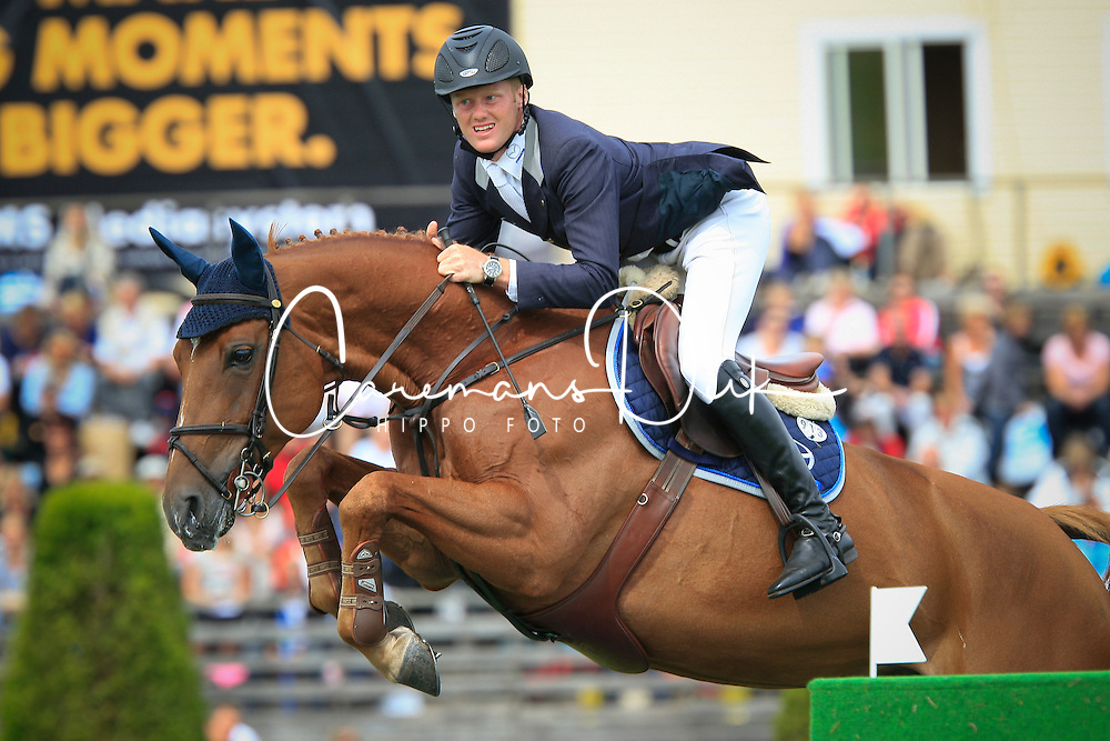 Bruynseels Niels (BEL) - Carpalo<br /> Longines Falsterbo Grand Prix<br /> Falsterbo Horse Show 2009<br /> © Hippo Foto - Leanjo de Koster