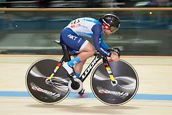 February 28, 2019 - Pruszkow, Poland - Wai Sze Lee (HKG) on day two of the UCI Track Cycling World Championships held in the BGZ BNP Paribas Velodrome Arena on February 28, 2019 in Pruszkow, Poland. (Credit Image: © Foto Olimpik/NurPhoto via ZUMA Press)