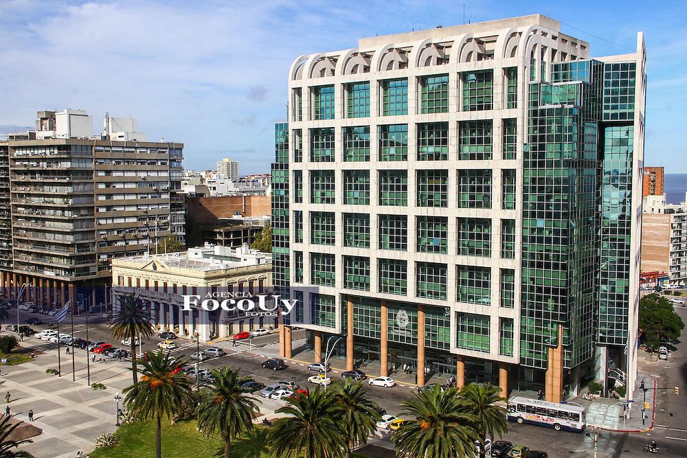 Montevideo, Uruguay, Marzo 2016. Torre Ejecutiva. Presidencia de la Republica
