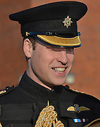 Prince William Presents Medals To Irish Guards