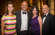 From left, Jennifer and Jeffrey Mathis, Silia Miglio, Interim Vice President, Finance, and Tito Miglio at the Mercy Hospital & Medical Center's 51st Dinner Dance Gala. The event took place at the Hilton Chicago on September 28, 2018. Dr. Robert M. Gasior and Honorable Patrick Huels were honored at the event, emceed by Kristen Nicole, anchor at Fox 32 Chicago. Proceeds will benefit Cardiovascular Services including screening, intervention, rehabilitation, wellness and prevention programs for patients and families. (Photo:Natalie Battaglia)