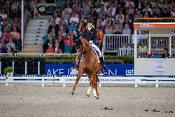 DUFOUR Cathrine (DEN), ATTERUPGAARDS CASSIDY<br /> Rotterdam - Europameisterschaft Dressur, Springen und Para-Dressur 2019<br /> Longines FEI Dressage European Championship <br /> Grand Prix Special<br /> 22. August 2019<br /> © www.sportfotos-lafrentz.de/Stefan Lafrentz