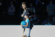 Stan Wawrinka during the ATP World Tour Finals at the O2 Arena, London, United Kingdom on 20 November 2015. Photo by Phil Duncan.