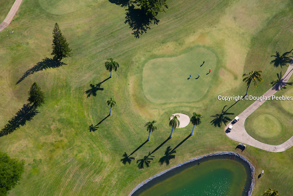 Golf course, Oahu, Hawaii