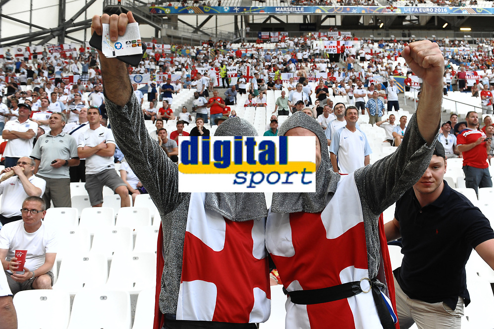 Tifosi Inghilterra England Supporters<br /> Marseille 11-06-2016 Stade Velodrome Footballl Euro2016 England - Russia  / Inghilterra - Russia Group Stage Group B. Foto Massimo Insabato / Insidefoto