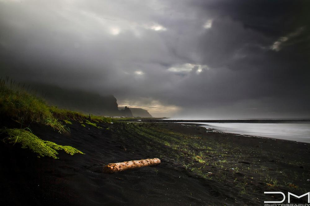 Volcanic beach close to Vik, Iceland