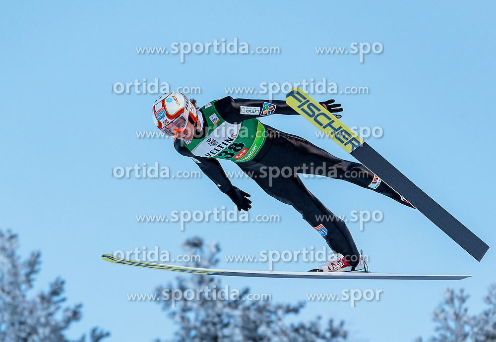 25.11.2016, Nordic Arena, Ruka, FIN, FIS Weltcup Nordische Kombination, Nordic Opening, Kuusamo, Skisprung, im Bild Mikko Kokslien (NOR) // Mikko Kokslien (NOR) during Skijumping of FIS Nordic Combined World Cup of the Nordic Opening at the Nordic Arena in Ruka, Finland on 2016/11/25. EXPA Pictures © 2016, PhotoCredit: EXPA/ JFK