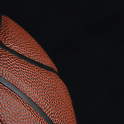 An artistic studio shot of a basketball. 26th October 2012. Photo Tim Clayton