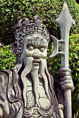 Charmant Chinese Warrior Statue At Grand Palace In Bangkok, Thailand U003cbr /u003e This  Chinese.