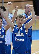 KOPER EUROBASKET 2013 8 SETTEMBRE 2013<br /> NAZIONALE ITALIANA MASCHILE<br /> ITALIA-GRECIA<br /> NELLA FOTO: NICOLO MELLI<br /> FOTO CIAMILLO