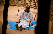 Haoua Bokoum Amadou, 14, in the village of Pétéguersé, 40 km north of Dori, Burkina Faso on Monday May 11, 2009. A few months ago, Haoua was forced to marry the son of her village's chief - who is also her cousin.