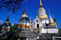 Thailande - <br /> Province de Chiang Mai - Chiang Mai<br /> Wat Suan Dok