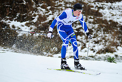 RESHETYNSKIY Laroslav Guide:  KHURTYK Dmytro, UKR at the 2014 IPC Nordic Skiing World Cup Finals - Long Distance