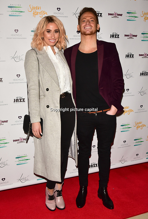 Stacey Solomon is a singer Arrivers at the Nailing Mental Health: Valentine's Ball The Hurlingham Club, Ranelagh Gardens on 14 Feb 2018, London, United Kingdom