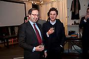 ALEXANDER VON STRAUBENZEE; THOMAS VON STRAUBENZEE;; The Volunteer, A fundraiser for a school project in Uganda. The Henry Von Straubenzee Memorial Fund, <br /> Few And Far, 242 Brompton Road, London SW3, 11 February 2010.