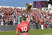 Presentation du Trophee aux Supporters / Matt Giteau - 09.05.2015 - Toulon / Castres  - 24eme journee de Top 14 <br />