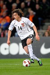 09-02-2011 VOETBAL: NEDERLAND - OOSTENRIJK: EINDHOVEN<br /> Netherlands in a friendly match with Austria won 3-1 / Julian Baumgartlinger AUT<br /> ©2011-WWW.FOTOHOOGENDOORN.NL